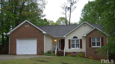 Wake Forest Single Family Home Contingent: 962 E Durness Court
