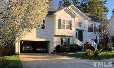 Cary Single Family Home Pending: 111 Plyersmill Road