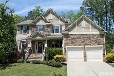 Cary Single Family Home For Sale: 3018 Red Grape Drive