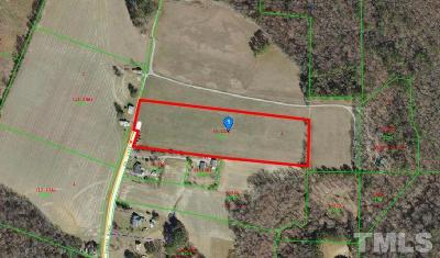 Johnston County Residential Lots & Land Pending: Thorne Road