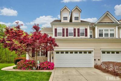 Chapel Hill Townhouse For Sale: 236 Towne Ridge Lane