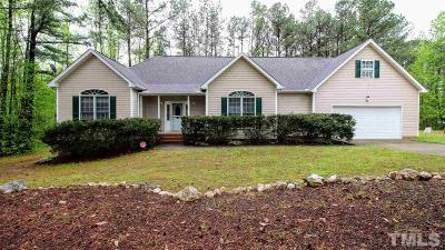 Franklinton Single Family Home For Sale: 4087 Tall Pine Drive