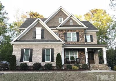 Holly Springs Single Family Home For Sale: 101 Roseberry Way