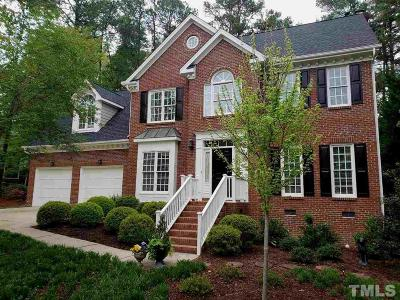 Apex Single Family Home For Sale: 2007 Sterling Silver Drive