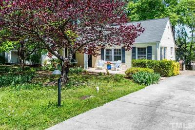 Raleigh Single Family Home For Sale: 1806 Hilton Street