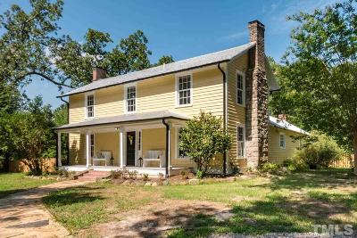Durham Single Family Home For Sale: 505 N Mineral Springs Road