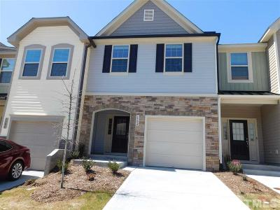 Wake County Rental For Rent: 1302 Garden Stone Drive