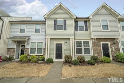 Wake Forest Townhouse Pending: 4516 Tarkiln Place