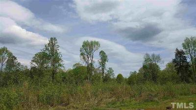 Chatham County Residential Lots & Land Pending: Parker Herndon Road
