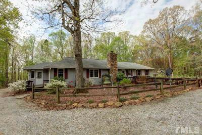 Single Family Home For Sale: 3650 Taylor Ferry Road
