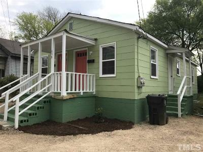 Wake County Rental For Rent: 657 Coleman Street