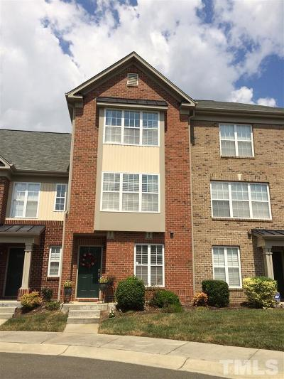 Wake County Rental For Rent: 9906 Marni Court