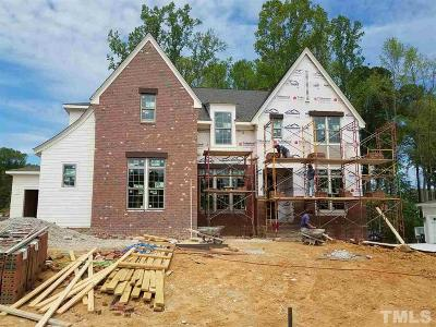 Apex Single Family Home Pending: 3164 Curling Creek Drive