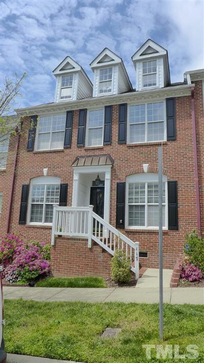 Chapel Hill Townhouse For Sale: 117 Westside Drive