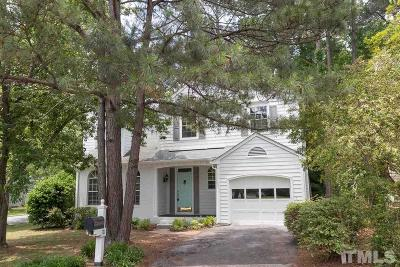 Chapel Hill Single Family Home For Sale: 101 Colchester Court