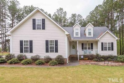 Youngsville Single Family Home Pending: 15 Williamston Ridge Drive
