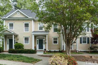 Raleigh Townhouse For Sale: 2243 Bellaire Avenue