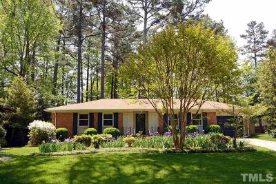 Raleigh Single Family Home For Sale: 7220 Madiera Court