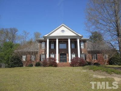Raleigh Single Family Home For Sale: 3408 Clay Hall Court
