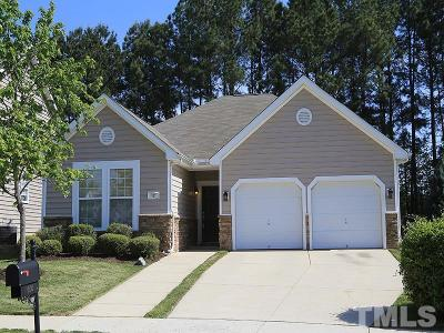 Rolesville Single Family Home Contingent: 605 Ashbrittle Drive