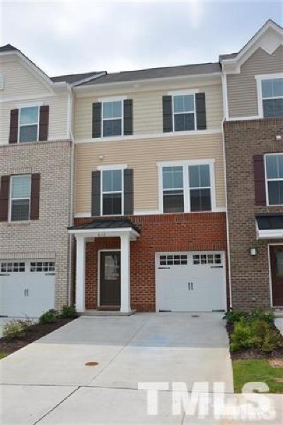 Wake County Rental For Rent: 717 Suffield Way