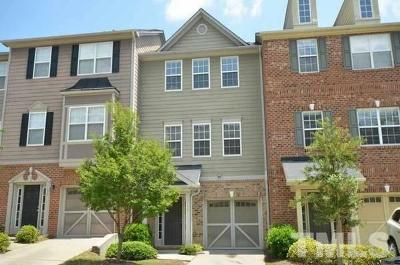 Wake County Rental For Rent: 114 Gallent Hedge Trail