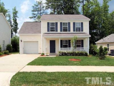 Wake County Rental For Rent: 204 Evening Star Drive