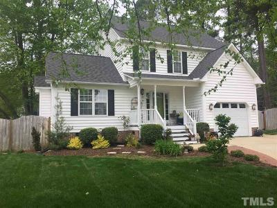 Garner Single Family Home Contingent: 117 Cullen Place