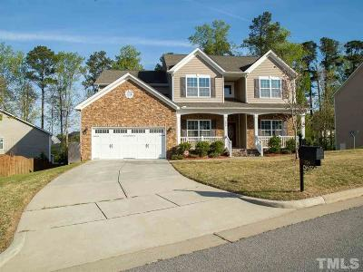 Knightdale Single Family Home For Sale: 324 Knollcrest Lane