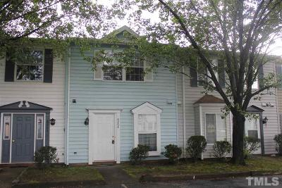 Raleigh Townhouse Contingent: 8264 McGuire Drive