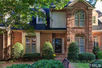 Raleigh Townhouse For Sale: 3321 Ridgecrest Court