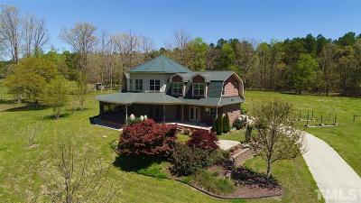 Louisburg Single Family Home For Sale: 234 Gun Powder Lane