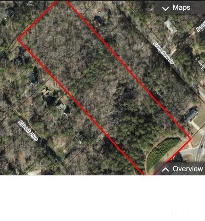 Wake County Residential Lots & Land Pending: 7102 Rabbit Run
