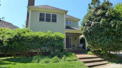 Carrboro Single Family Home For Sale: 230 Stable Road