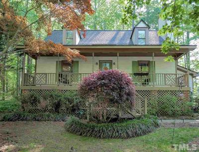 Raleigh Single Family Home Contingent: 8821 Reigate Lane