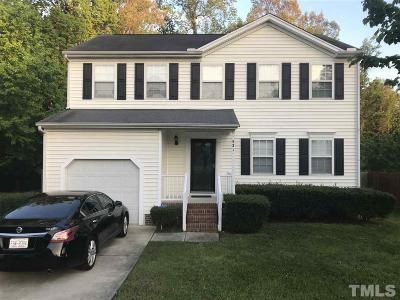 Knightdale Single Family Home Contingent: 521 Laurens Way
