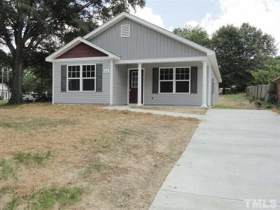 Fuquay Varina Single Family Home For Sale: 134 N West Street