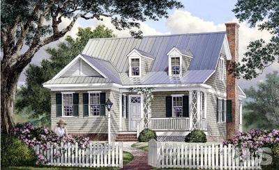 Hillsborough Single Family Home For Sale: Lot 14 Lake Orange Road