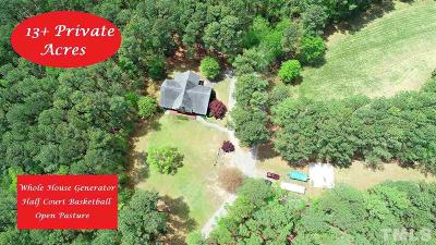 Apex Single Family Home For Sale: 1661 Hortons Pond Road