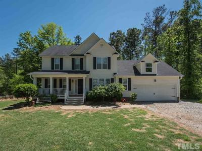 Zebulon Single Family Home For Sale: 41 Palamino Drive