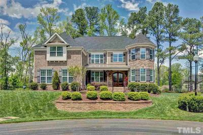 Cary Single Family Home Contingent: 3505 Carvers Gap Court