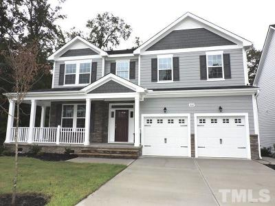 Knightdale Single Family Home Pending: 444 Cedar Pond Court