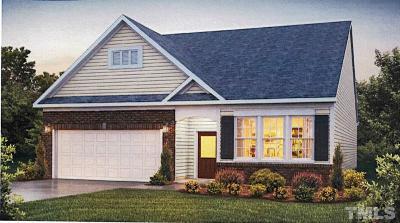 Zebulon Single Family Home For Sale: 1013 Milkweed Court