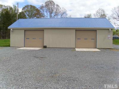 Chatham County Commercial For Sale: 6790 Siler City Snow Camp Road