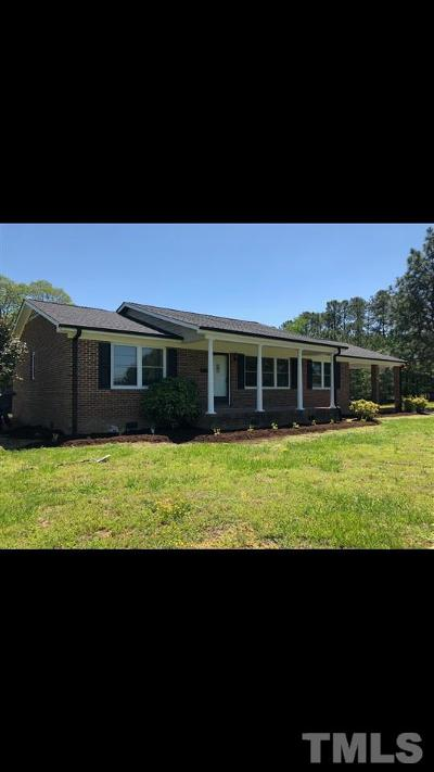 Oxford Single Family Home Contingent: 3600 Nc 96 Highway