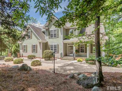 Chatham County Single Family Home Contingent: 67 Blue Rock Trail