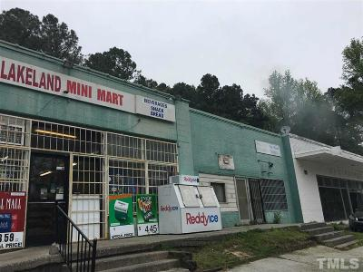 Durham Commercial For Sale: 610 Lakeland Street