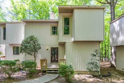 Cary Townhouse For Sale: 443 Pebble Creek Drive