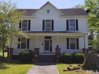 Louisburg Single Family Home Pending: 516 Kenmore Avenue