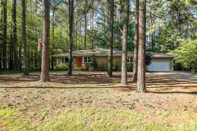 Chapel Hill Single Family Home Contingent: 101 Doar Road